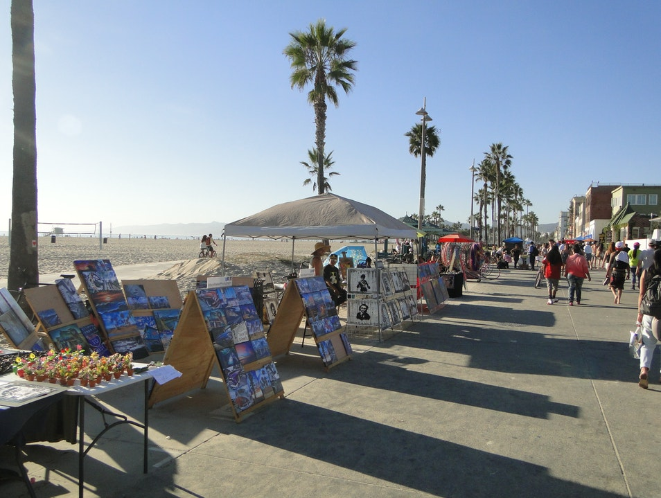 Beach-Hopping along the Boardwalk Los Angeles California United States