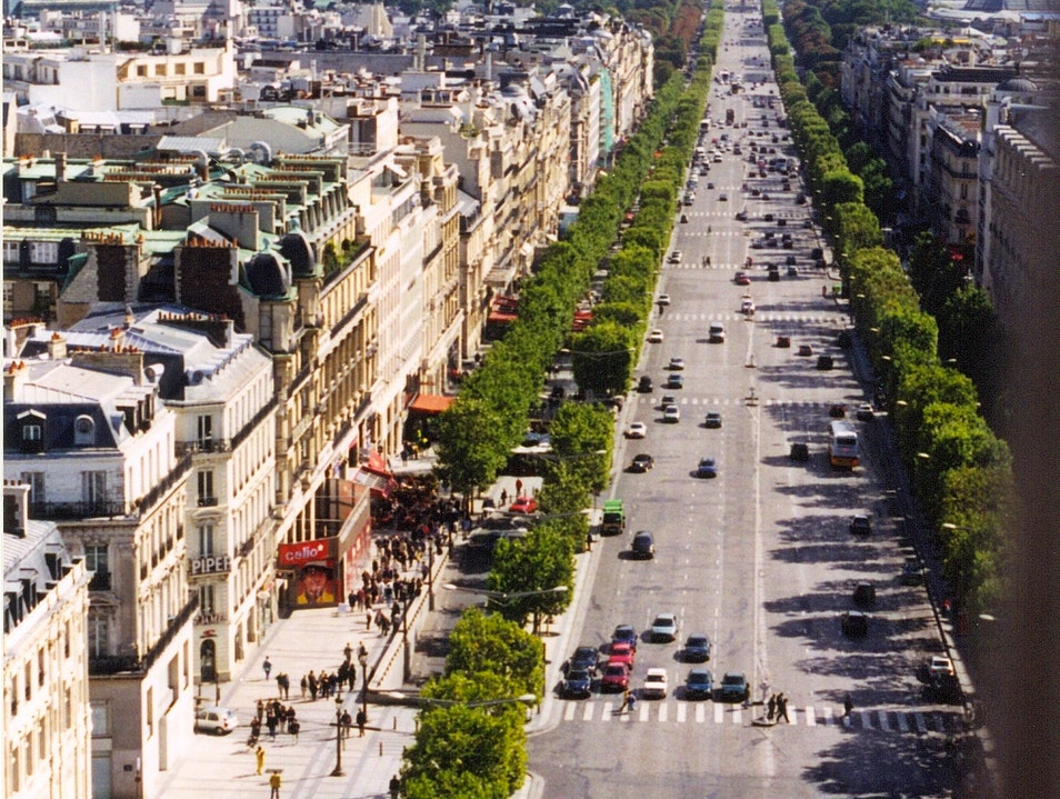 Les Champs Elysees Paris  France