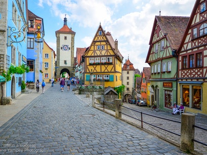 Rothenburg ob der Tauber Rothenburg  Germany