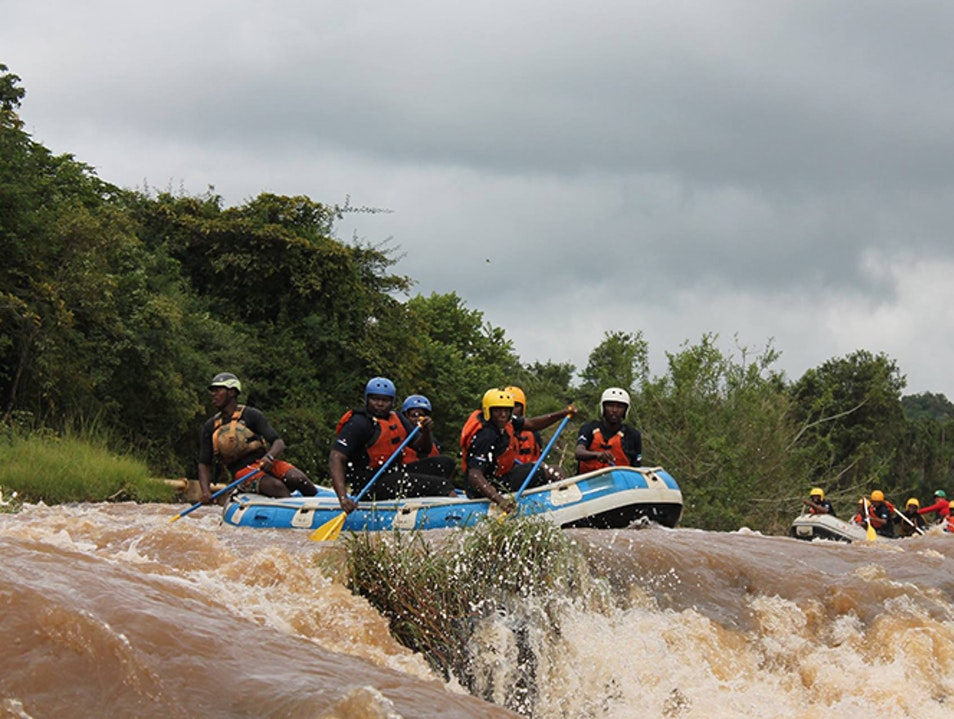 White-Water Rafting Kirinyaga County  Kenya