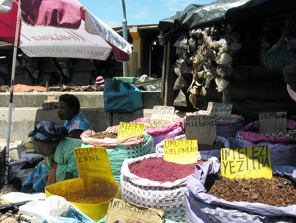 Muthi Market  Durban  South Africa