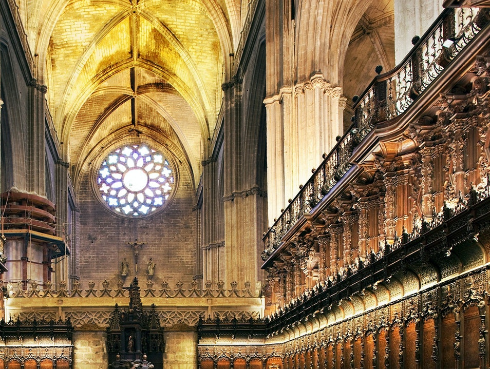 Cathedral of Seville Seville  Spain