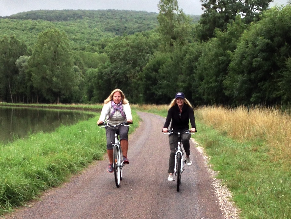 Biking the Burgandy Canal Bouilland  France