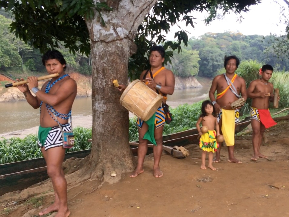 Spend the Night in an Embera Indian Village Panama City  Panama