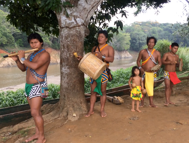 Spend the Night in an Embera Indian Village