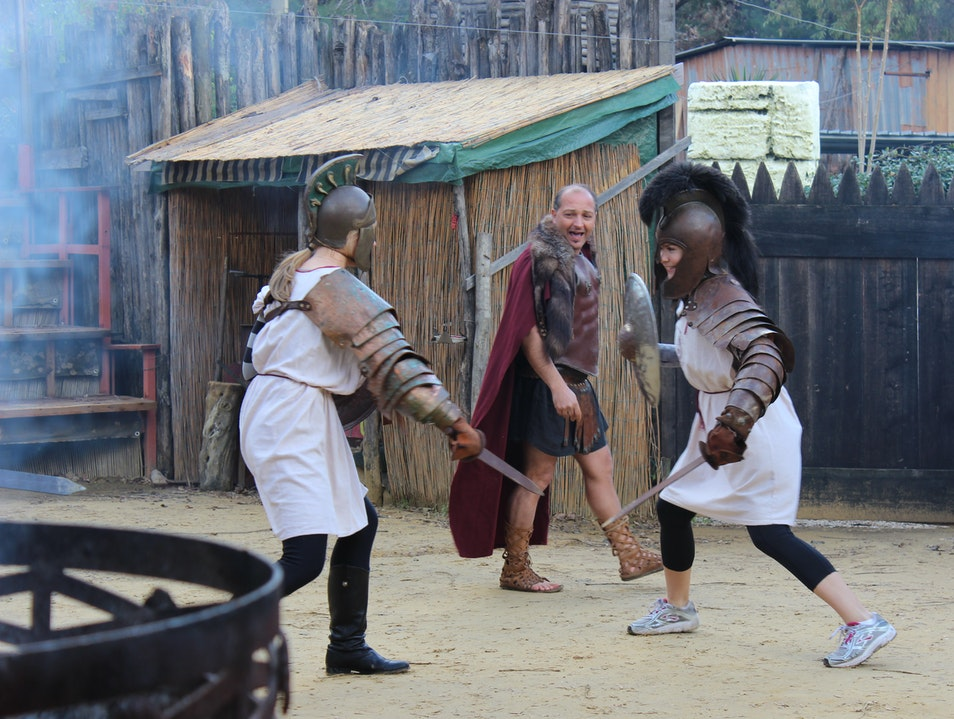 Learn to Fight Like Russell Crowe in Rome