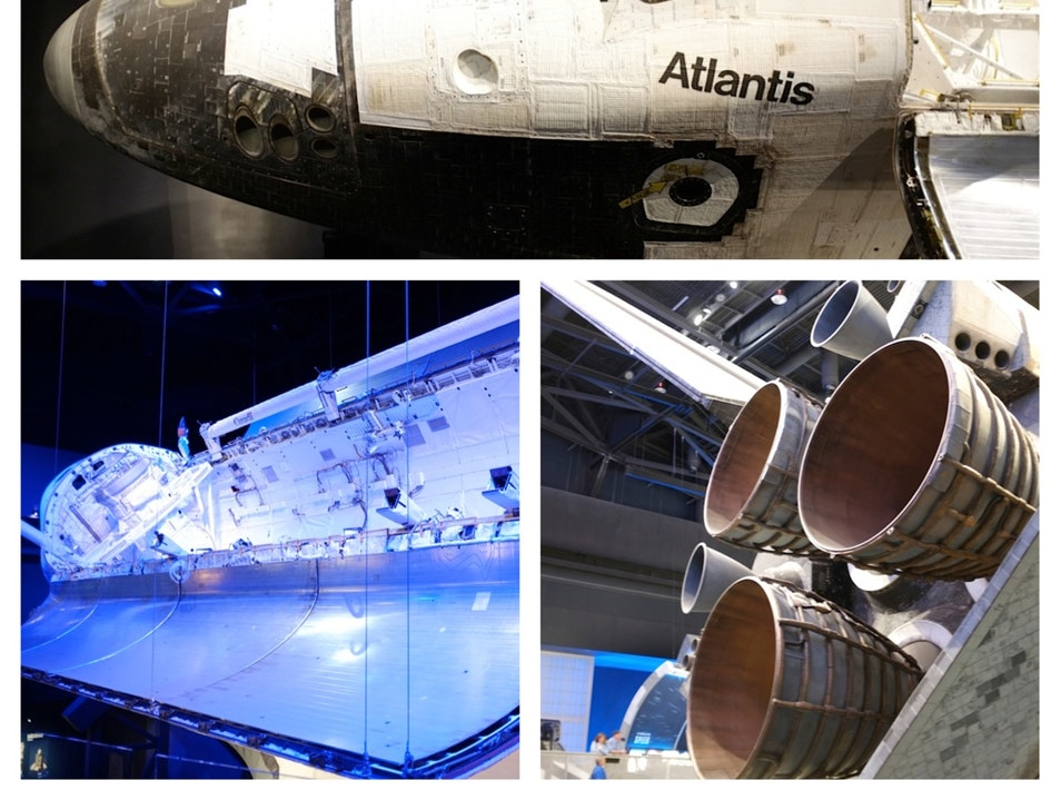 Finding My Inner (and Outer) Nerd at the Space Shuttle Atlantis