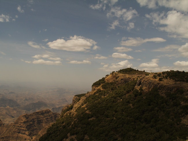 Great view of the Simien Mountains, Ethiopia