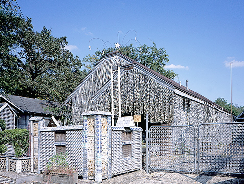 Beer can house Houston Texas United States