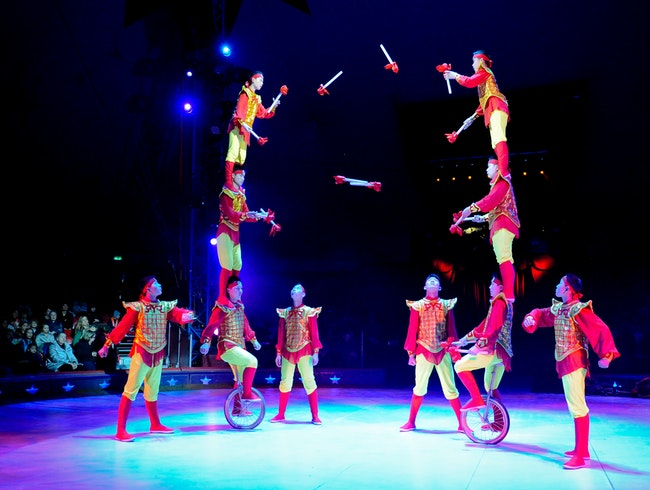 The Swiss National Circus on the Shores of Lake Zurich