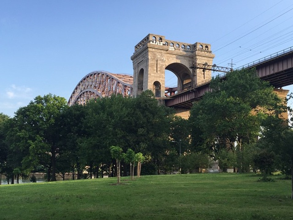 Morning Run in Astoria Park New York New York United States
