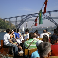 River Cruz from Ribeira,