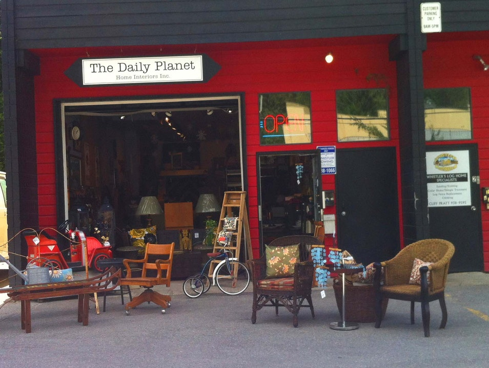 Hunting for Treasure at the Daily Planet Whistler  Canada