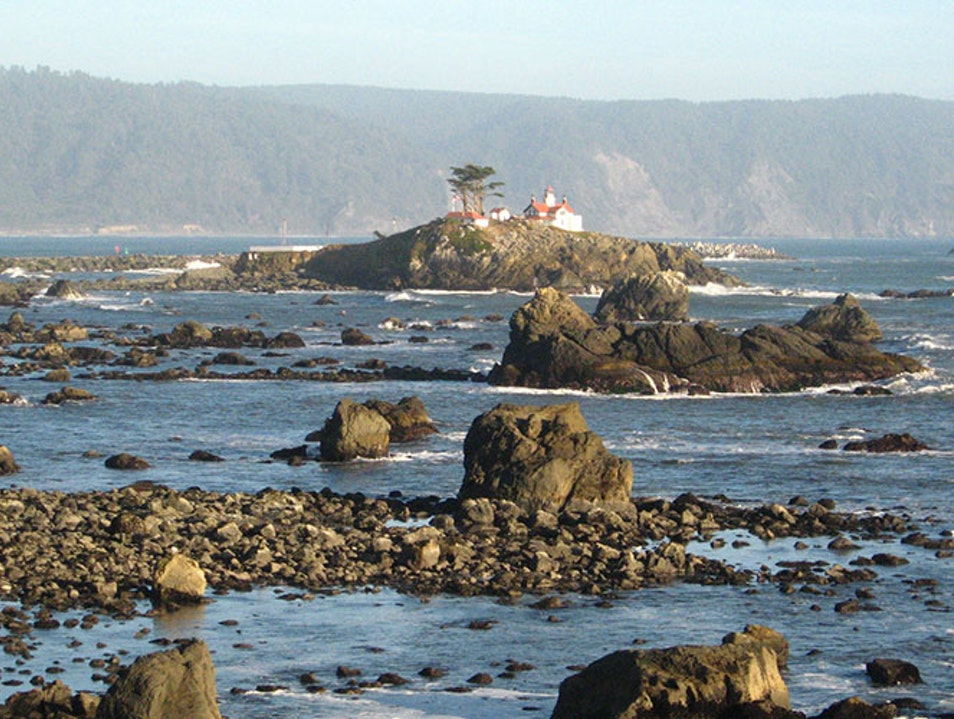 Battery Point Lighthouse Crescent City California United States