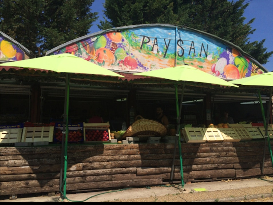 Paysan Fruits Grasse  France