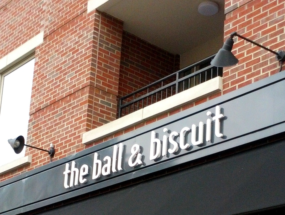 Vintage Cocktails and Small Plates at the Ball & Biscuit  Indianapolis Indiana United States