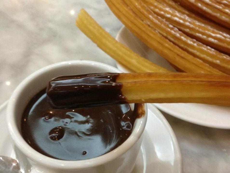 Best churros & chocolate in Spain!