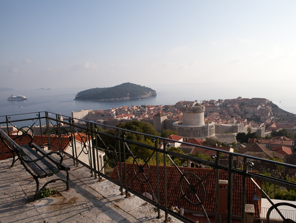 Hidden view of Dubrovnik Dubrovnik  Croatia