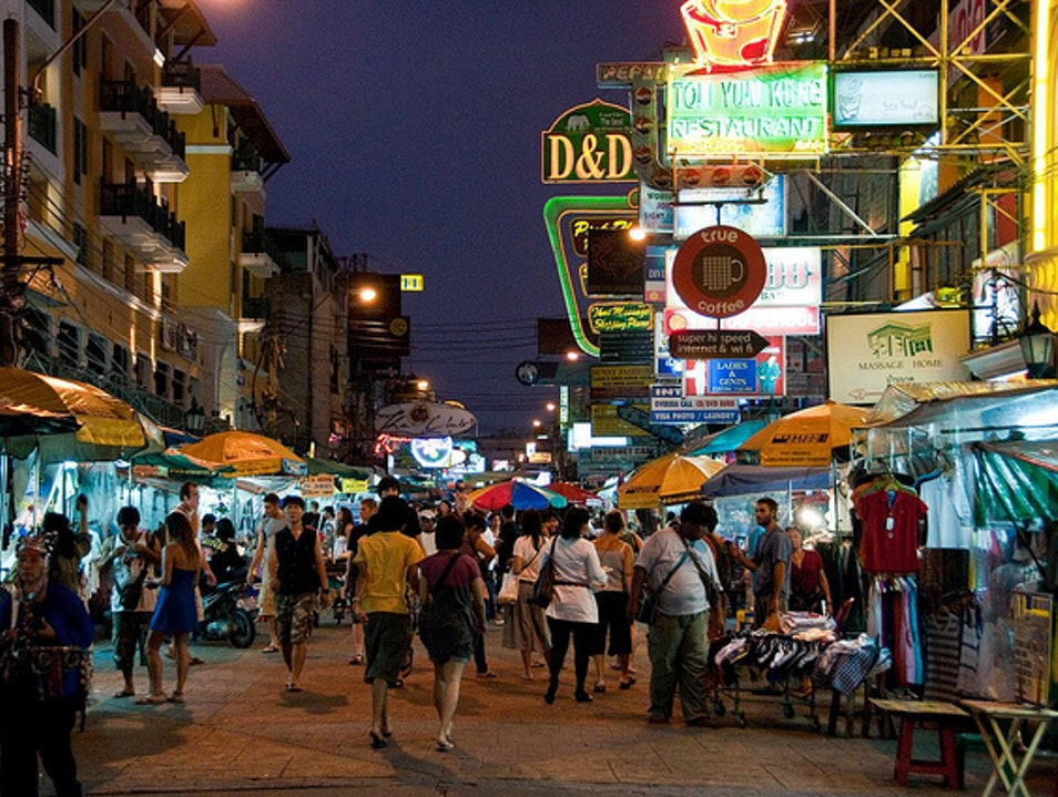 Khao San Road: Nightlife, markets, walking streets, cafes and more Bangkok  Thailand