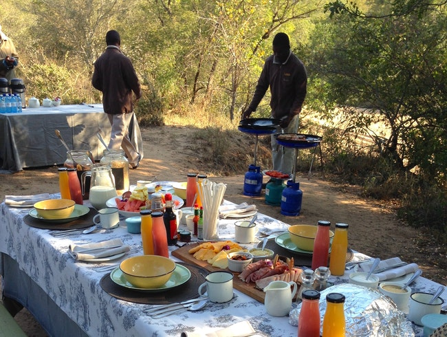 A Surprise Breakfast in the Bush