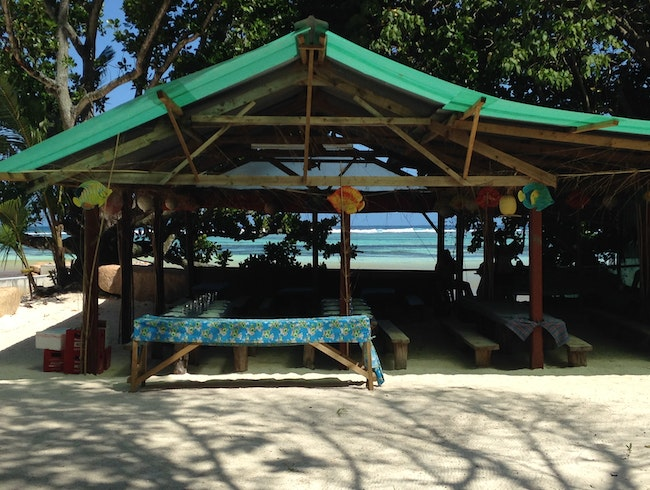 Eat:  Loutier Coco at Grand Anse Beach