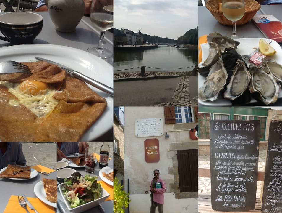 A charming town of Historic Interest  Auray  France