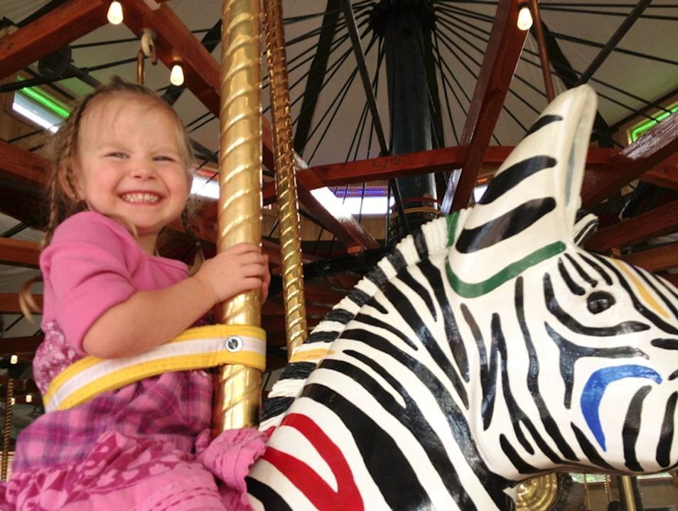 Ride the Carousel of Happiness in Nederland, Colorado