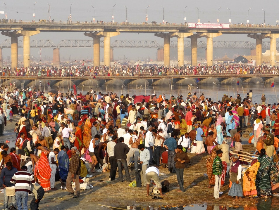 The Path to Maha Kumbh Mela Prayagraj  India