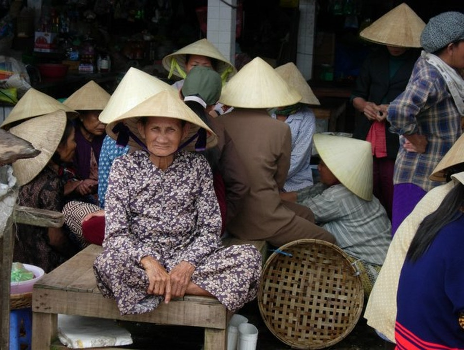 On the Piers of Hoi An