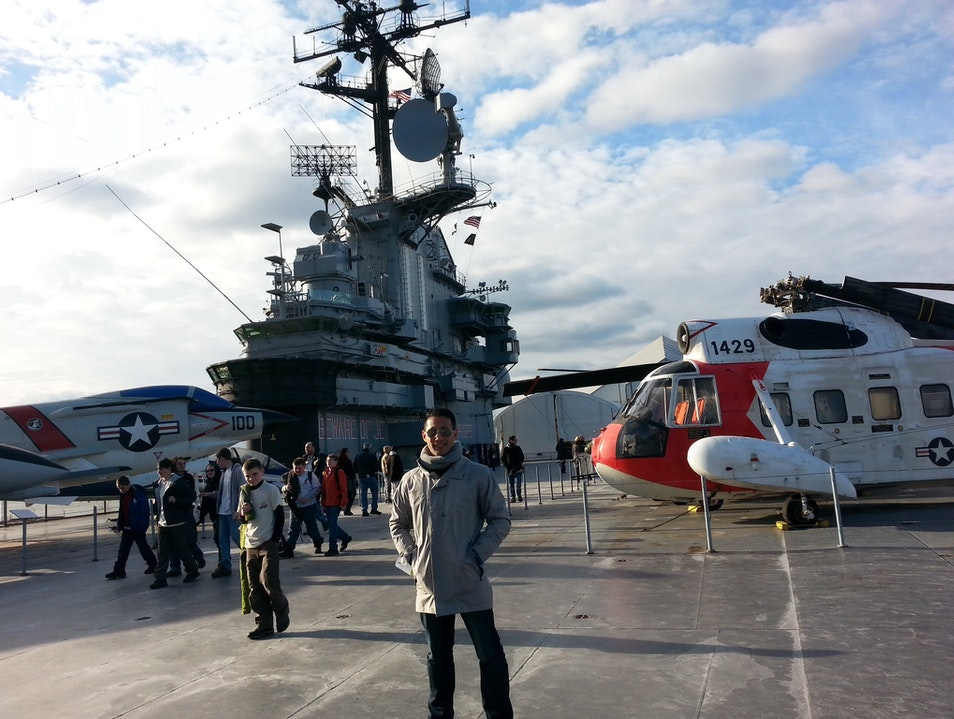 On Board the Intrepid