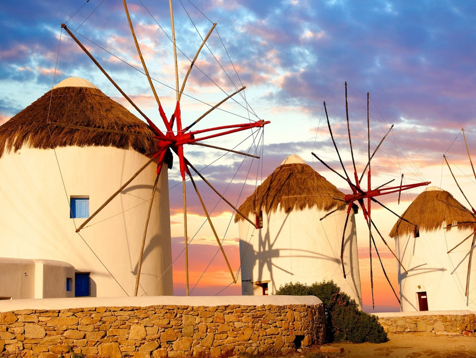 Mykonos Windmills Mykonos  Greece