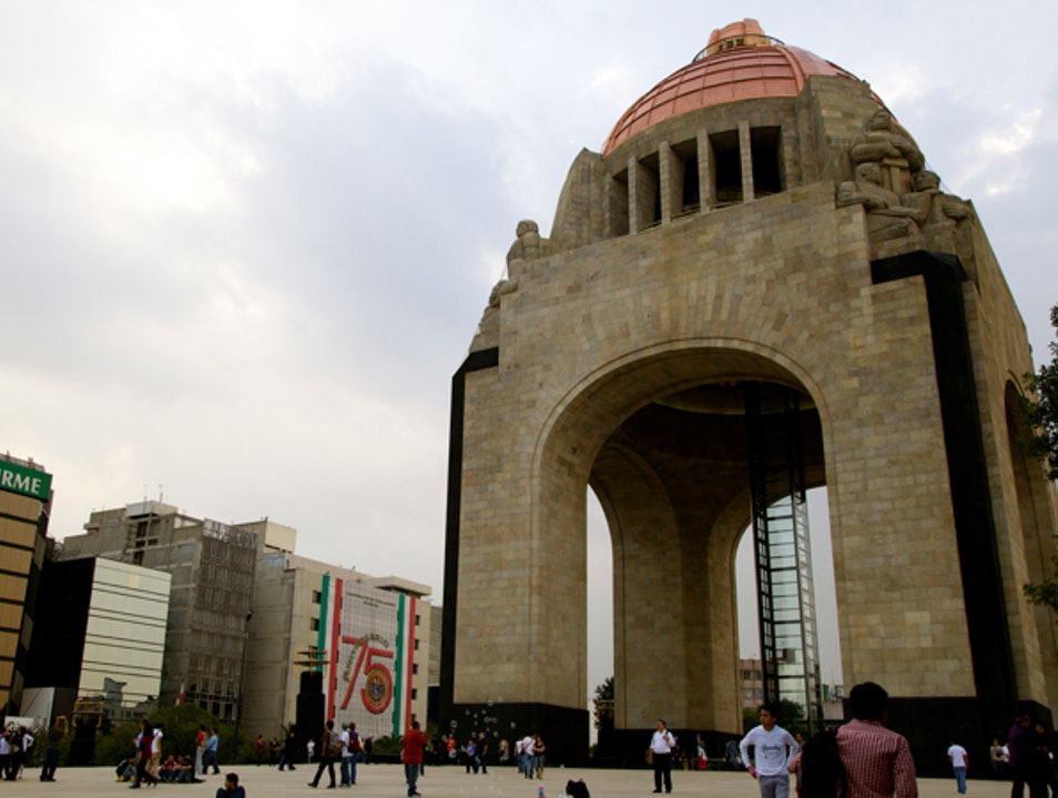 Art Deco and Mexican Surrealism Pay Tribute to Revolutionary History  Mexico City  Mexico