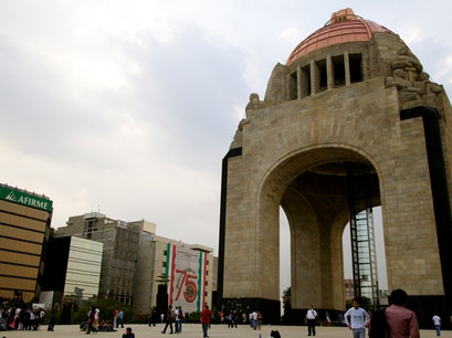 Monument to the Revolution Mexico City  Mexico