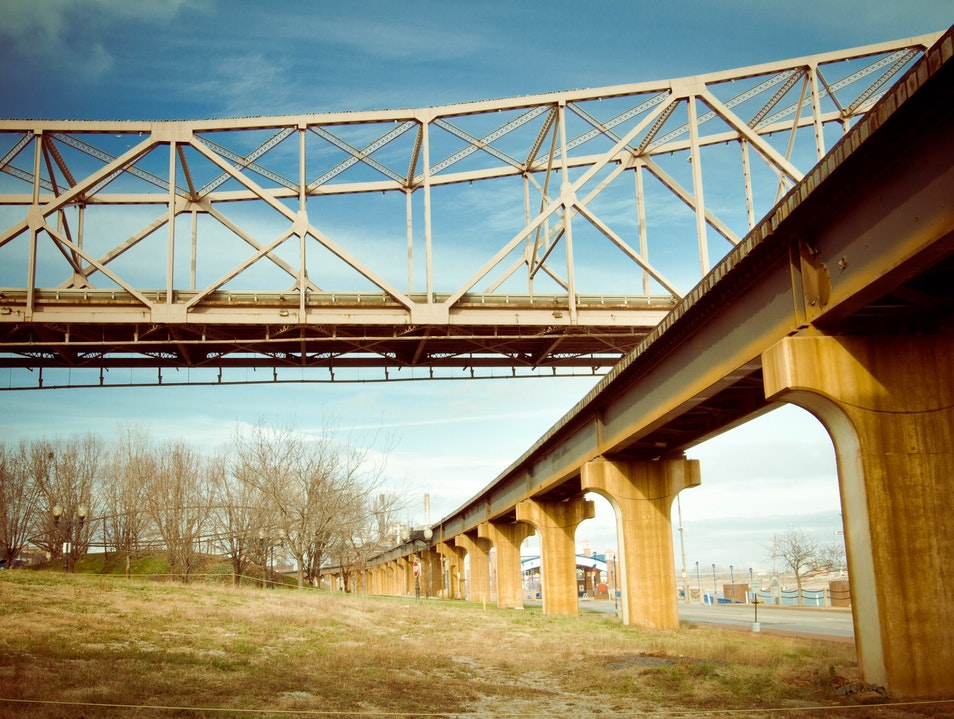 Crossing The Mississippi East St. Louis Missouri United States