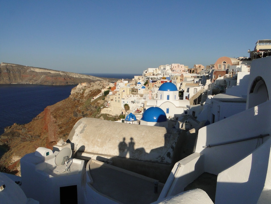Early Morning in Oia Oia  Greece