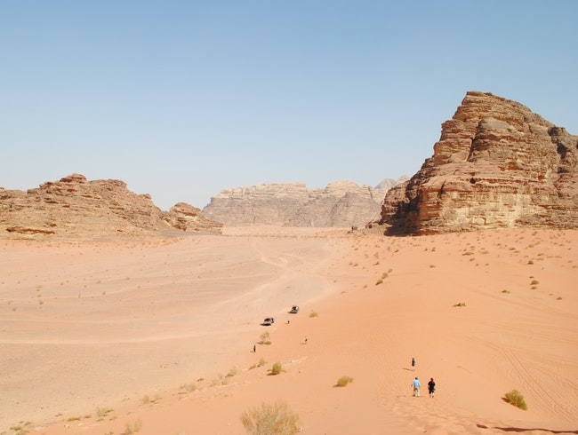 Wadi Rum, Jordan: Valley of the Moon
