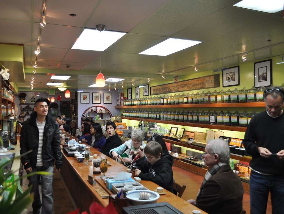 Tea Tasting in Chinatown San Francisco California United States