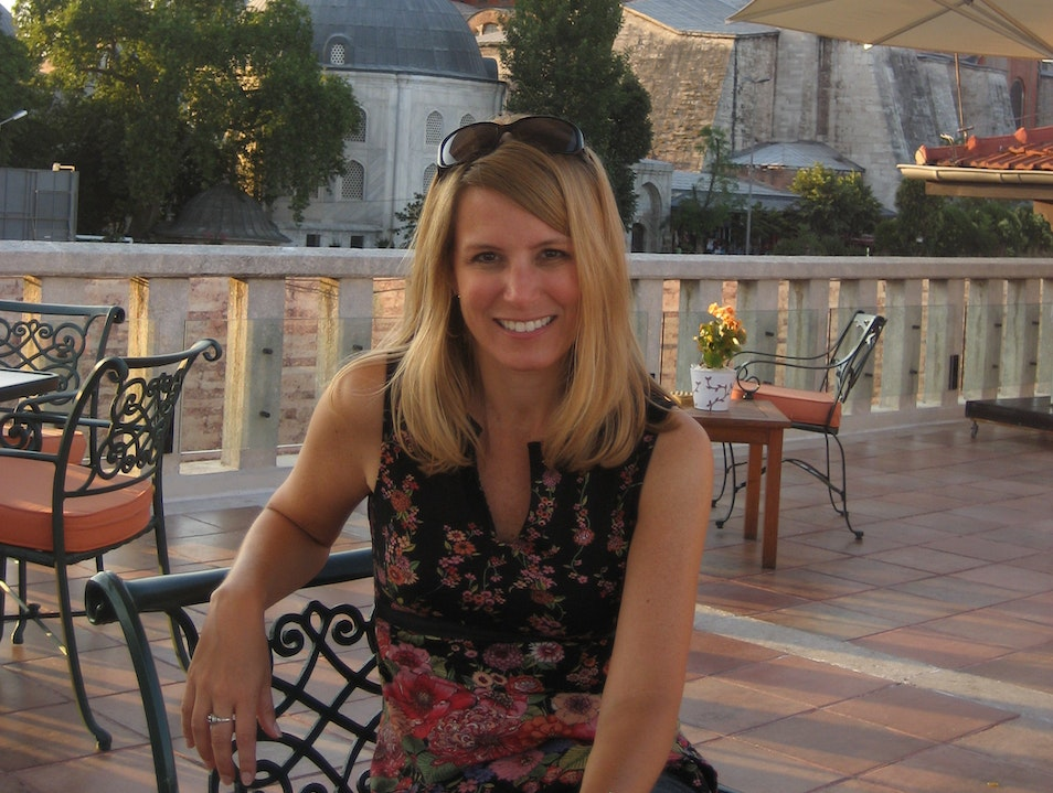 Best View of the Blue Mosque & Hagia Sofia Istanbul  Turkey