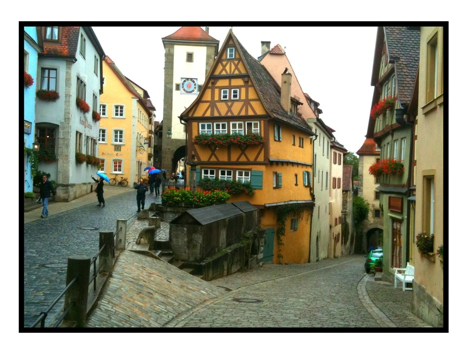 The Romantic Road Rothenburg ob der Tauber  Germany