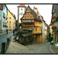 city gate Rothenburg ob der Tauber  Germany