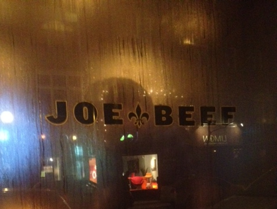 Montreal Restaurant Fave: Joe Beef  Montreal  Canada