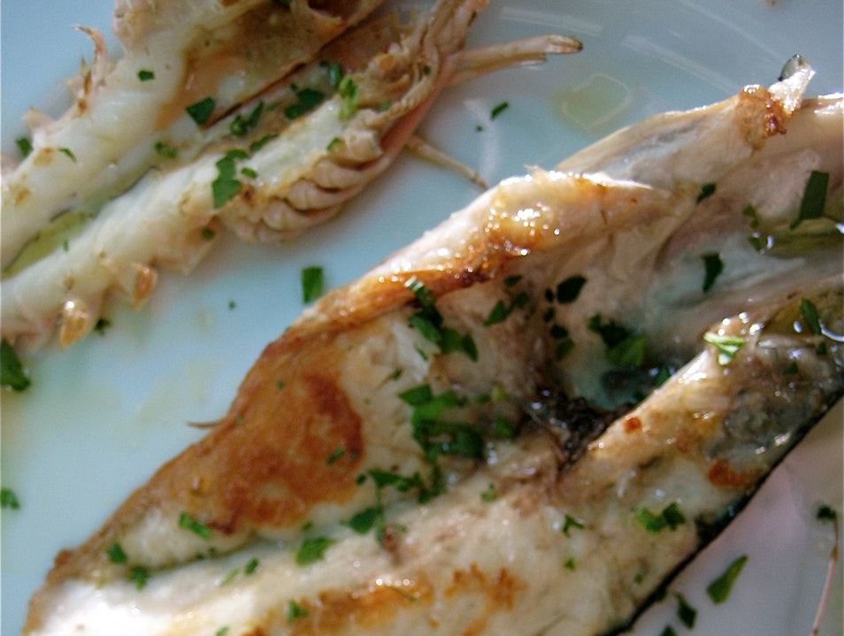 Seafood from a Master Rome  Italy