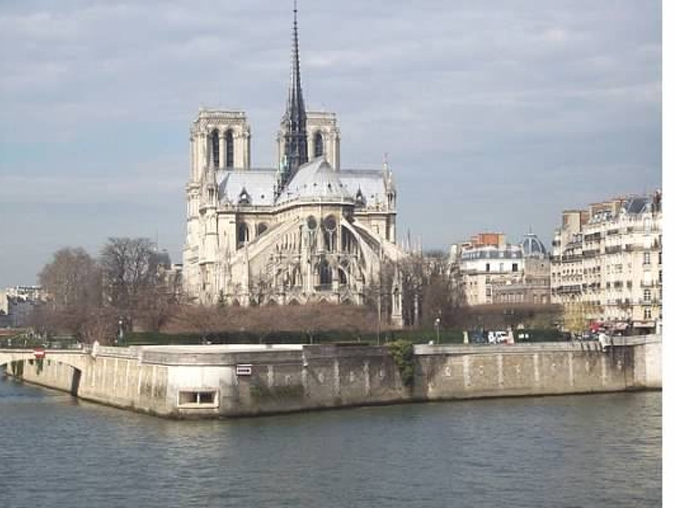Another view of the Notre Dame   France