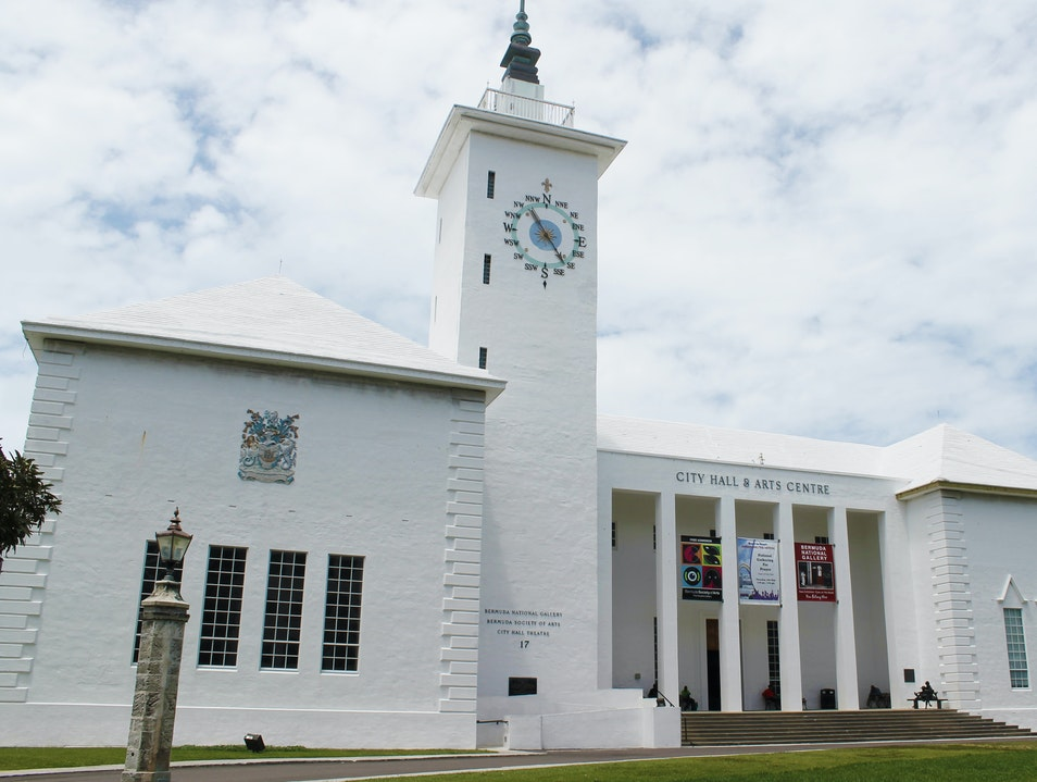 See the Artwork of the Bermuda National Gallery  Pembroke  Bermuda