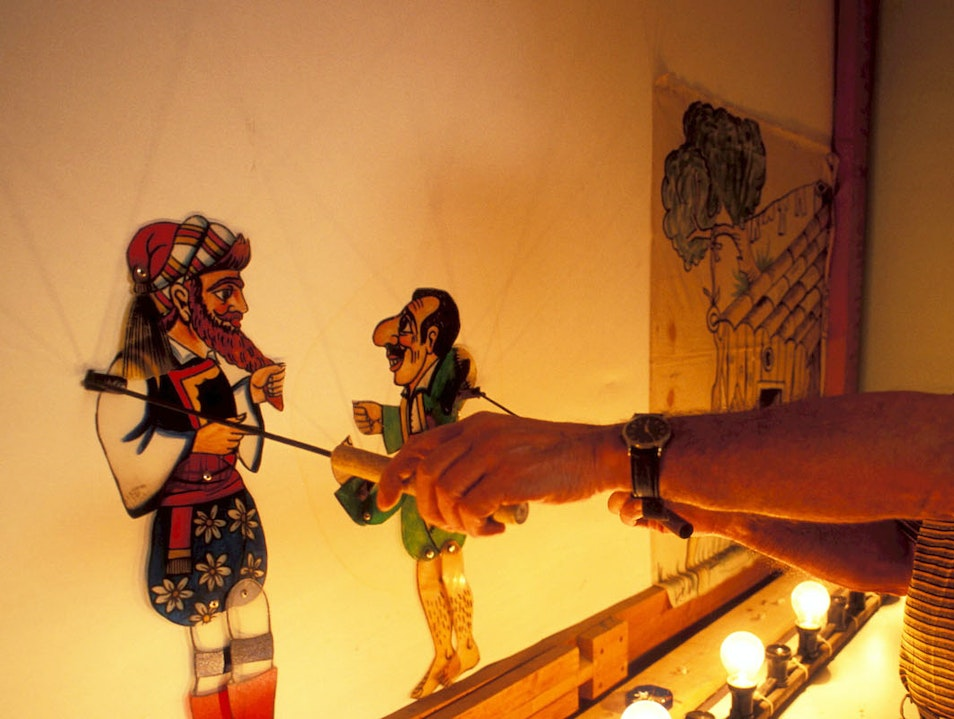 Shadow Theatre Narrative Museum (THEASI) Githio  Greece