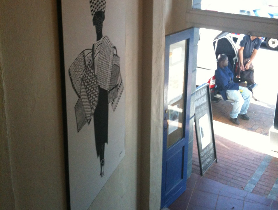 Browsing Contemporary Arts & Crafts in Kalk Bay Cape Town  South Africa