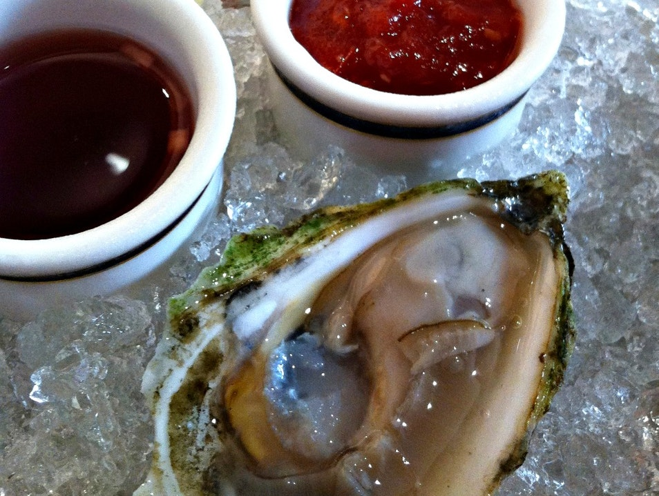 A Great American Oyster Bar Portland Maine United States