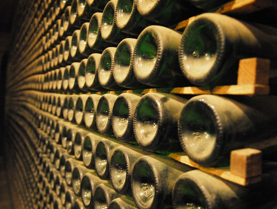 World's Largest Cava Cellar Sant Sadurní d'Anoia  Spain