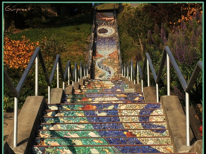 16th Avenue Tiled Steps San Francisco California United States