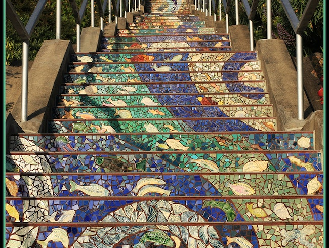 San Francisco's Most Photogenic Stairs